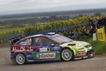 WRC: Fordy tuż za podium we Francji, mistrzostwo Loeba